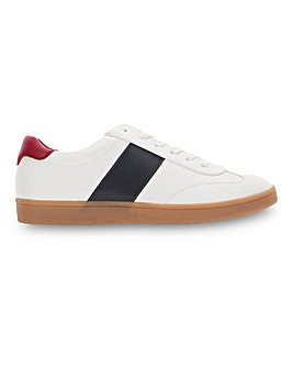 Gum Sole White Sneaker Wide Fit