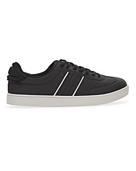 Black Side Stripe Trainer