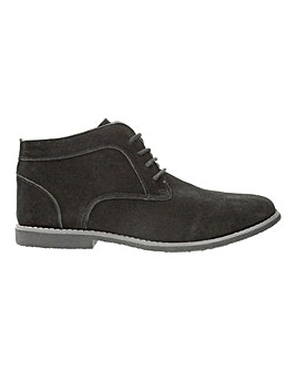 Faux Suede Casual Chukka