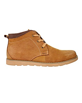 Leather Casual Chukka Boot