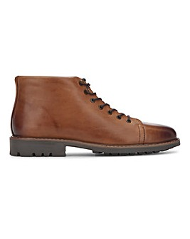 Leather Monkey Boot Wide Fit
