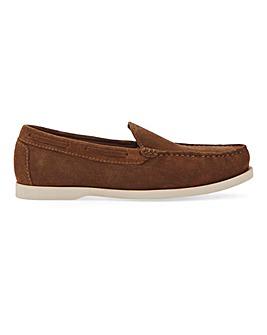 Modern Suede Boat Shape Shoe W