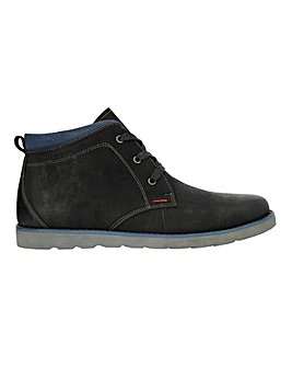 Leather Casual Chukka Boot