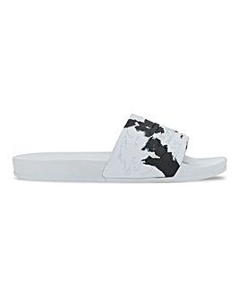 Monochrome Footbed Slider