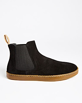 Black Sustainable Chelsea Boot Standard Fit