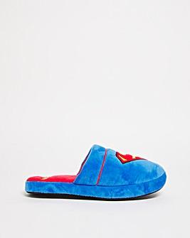 Superman Slip On Slipper