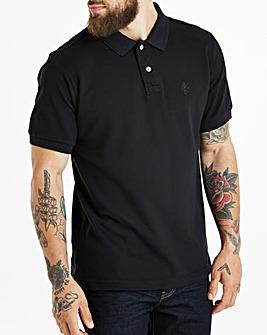 Capsule Black Short Sleeve Polo R