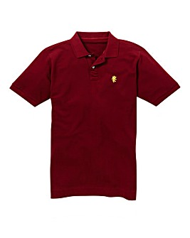 Capsule Wine Embroidered Polo Extra Long