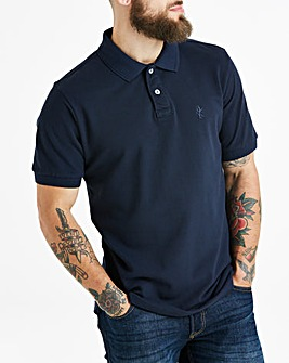 Navy Short Sleeve Polo Regular