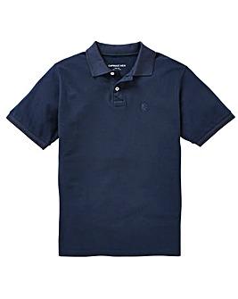 Capsule Navy Short Sleeve Polo XL