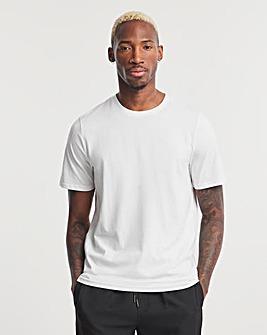 White Crew Neck T-shirt Regular