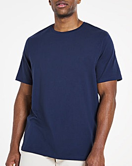 Navy Crew Neck T-shirt Regular