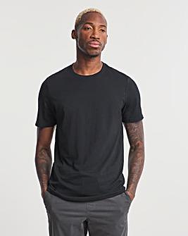 Black Crew Neck T-shirt Long