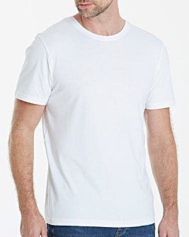 White Crew Neck T-shirt Regular