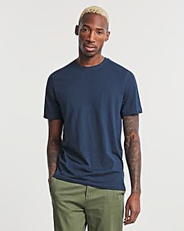 Navy Crew Neck T-shirt Long