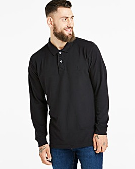 Capsule Black Long Sleeve Polo R