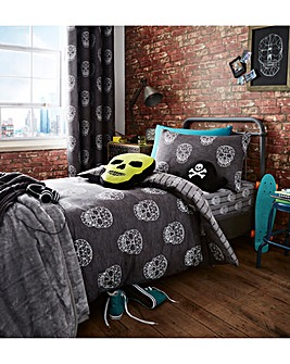 Skulls Duvet Cover Set