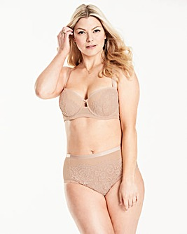 Pretty Secrets Milly Lace Blush Blacony Bra