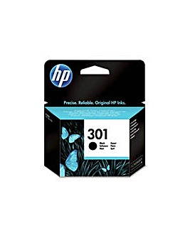 HP 301 STD Black Original Ink Cartridge