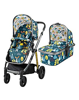 Cosatto Wow Pram & Pushchair - Foxtale
