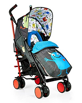 Cossato Supa 2018 Stroller - Monster Mob
