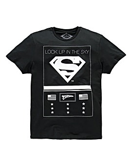 Jack & Jones Superman Black T-Shirt