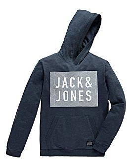 Jack & Jones Rider Navy Hooded Sweat