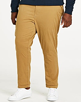 Tobacco Stretch Tapered Chino 29 Inch