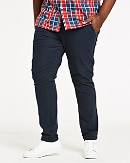 Navy Stretch Tapered Chino 29in