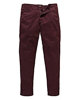 Capsule Wine Stretch Tapered Chino 31in