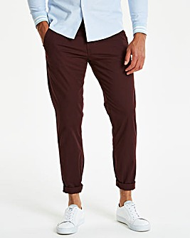 Capsule Wine Stretch Tapered Chino 29In Leg Length