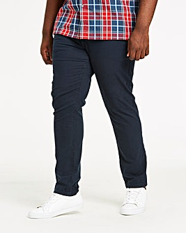 Navy Stretch Tapered Chino 31in