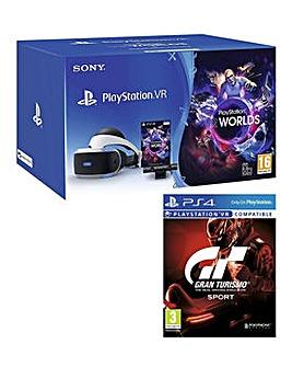 Playstation VR Bundle with Gran Turismo