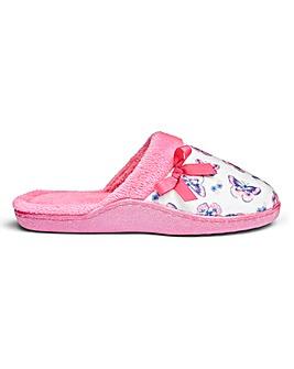 Heavenly Soles Comfort Slippers EEE Fit
