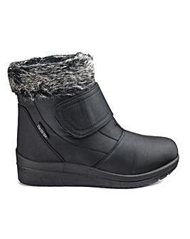 Cushion Walk Warm Lined Boots E Fit