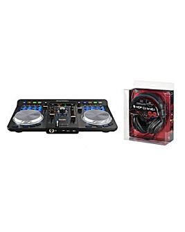 Hercules Universal DJ Set + DJ Headset