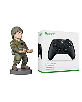 COD WWII Cable Guy + Xbox Controller