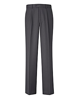Premier Man Pleated Trousers With Elasticated Side Tunnel Waistband 31in