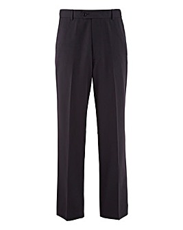 Premier Man Plain Trousers With Elasticated Side Tunnel Waistband 29in