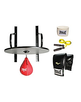 Everlast Speed Bag and Accessories