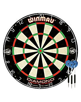 Winmau Bristle Dartboard and Darts Set