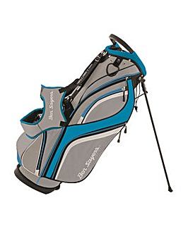 Ben Sayers DLX Stand Bag Grey/Turquoise