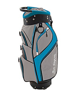 Ben Sayers DLX Cart Bag Grey/Turquoise