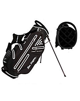Ben Sayers Hydra Pro Waterproof Stand Bag - Black/White