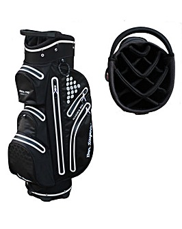 Ben Sayers Hydra Pro Waterproof Cart Bag - Black/White