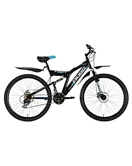 Boss  Stealth Full suspension mountain bike Gents 18.5""