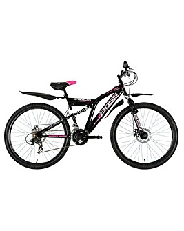 Boss  Stealth Full suspension mountain bike Ladies 18.5""