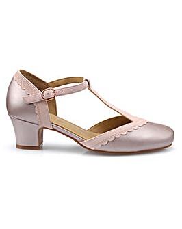28c32f8416c0 Hotter Viviene Wide Fit T-Bar Shoe
