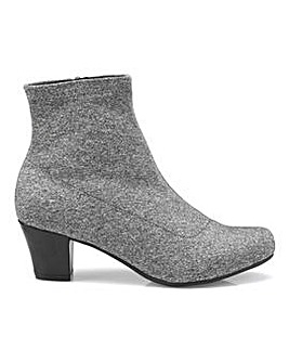Hotter Joy Mid Heel Ankle Boot