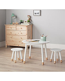 Scandi Play Table - White